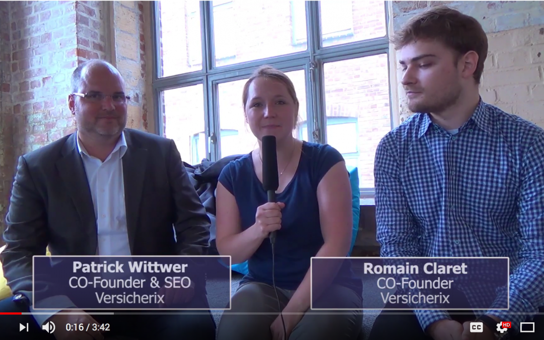 Blockchain and Insurance: Versicherix Video Interview (german & english)